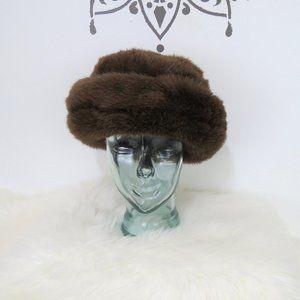 Ben Berger Brown Faux Fur Winter Hat